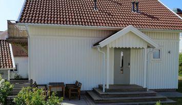 Hus vid Smögenbryggan