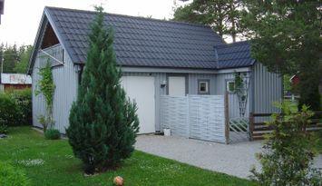 Mysig stuga i Othem (norra Gotland) med 4 bäddar