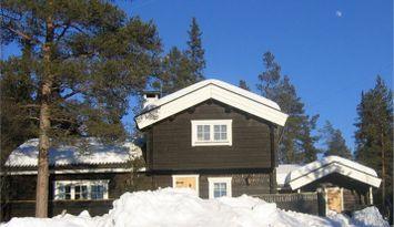 Gediegenes Holzhaus im Grövelsjögebirge
