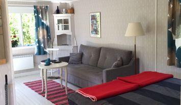 Mysig stuga med gratis WiFi i Färjestaden på Öland