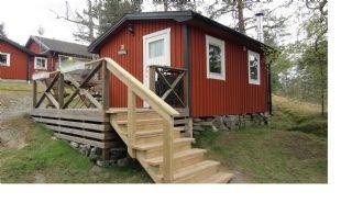 Röd stuga 25 kvm mitt på Utö i Stockholms Skärgård