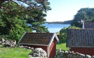 Fantastisk havsutsikt på Resö, norra Bohuslän