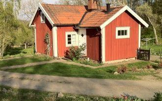Cottage nearby the river Nättrabyån