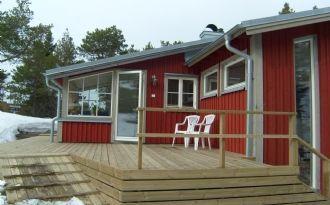Välutrustat hus i Höga Kusten med havsutsikt