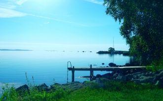 Standtomt i Norje med båt