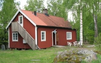 Cottage with beachfront property in Lake Möcklen