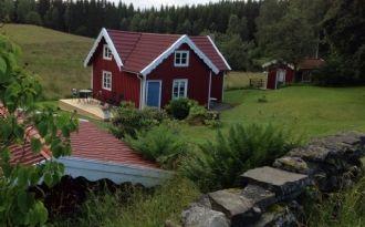 Stuga, naturskönt läge, 6 km från Ullared