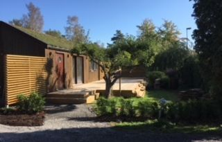 Mini villa i stockholms skärgård nära city, natur