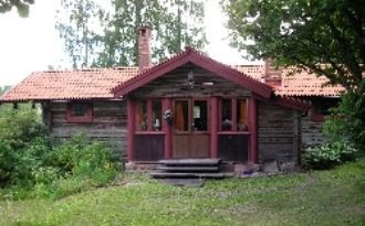 Charming log cabin in tranquil Leksand area