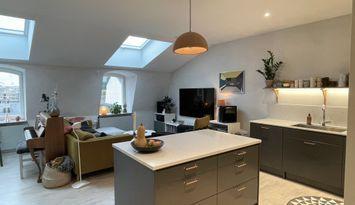 Nyproducerad lägenhet i Visby innerstad