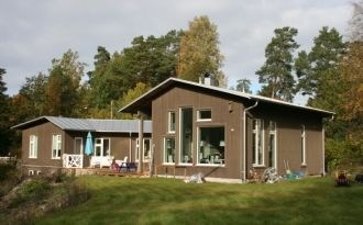 Swedish designhouse near Stockholm
