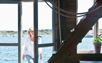 Unikt havsnära sommarboende med båtplats - Orust