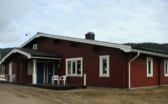 Cottage by Klarälven Beach close to fishing