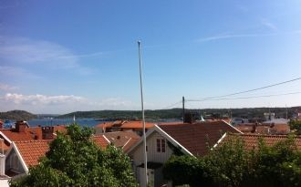 Wohnung mit großem Balkon auf der Insel Marstrand
