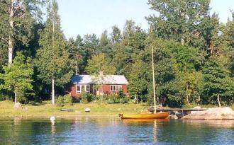House on beautiful Gräsö Seashore, Sweden
