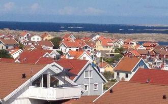Härligt hus på Smögen med havsutsikt