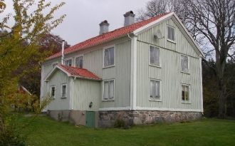 House in Bosgård, Urshult by lake Åsnen