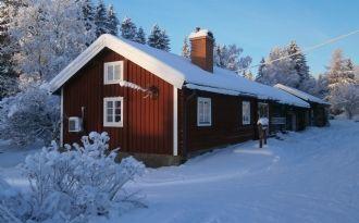 Stuga i Klövsjö by