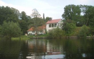 Toppenläge vid  sjön Åsnen.