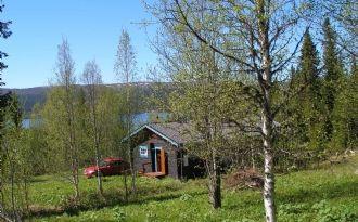 Trevlig fjällstuga vid Åkersjön - båt ingår