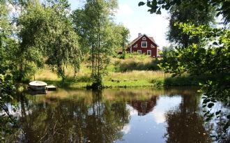 House in the south of Småland by the river Ronneby