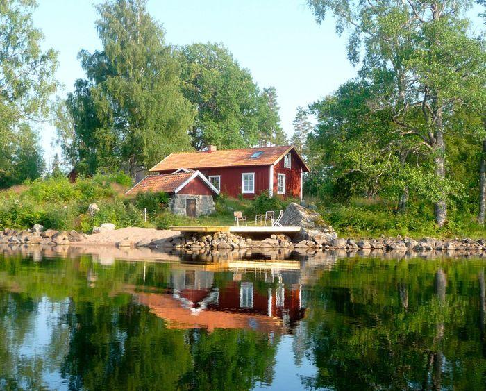 Ferienhaus filipstad see lake yngen persberg gammalkroppa värmland mieten värmland ferienhaus am see eigene halbinsel