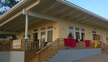 17 bäddar, modernt hus i Bokenäs, västkusten