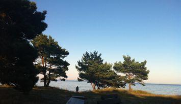 Österlen - Stuga med strandtomt och havsutsikt