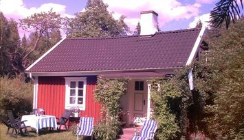Typical Swedish cottages