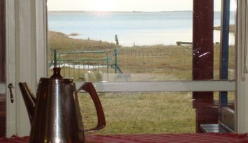 Vidunderlig utsikt vid havet på Gotland!