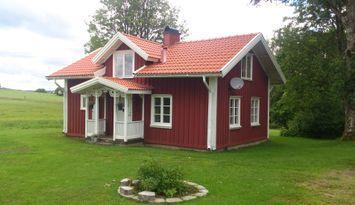 Cottage on a small farm with alpakkas