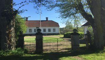 Herrgårdsflygel 1700-talsgård unik miljö, Bjurbäck