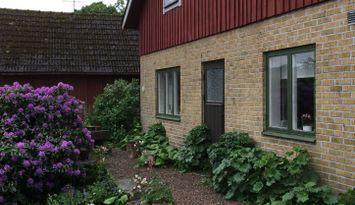 Gårdshus på Bondgård nära Söderåsen