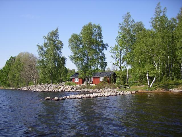 hyra stuga nära vatten