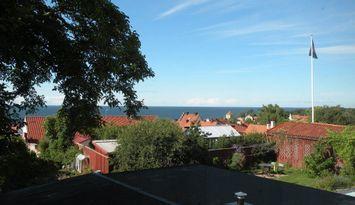 Stort hus havsutsikt Visby innerstad vecko-/månuth