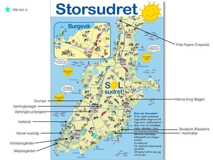 karta södra gotland Hyra stuga i Vamlingbo, Burgsvik. Fantastiskt läge på södra Gotland. karta södra gotland