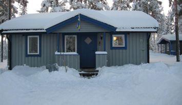 Gebirgshütte in der Nähe von Idre, Sommer und Winter!