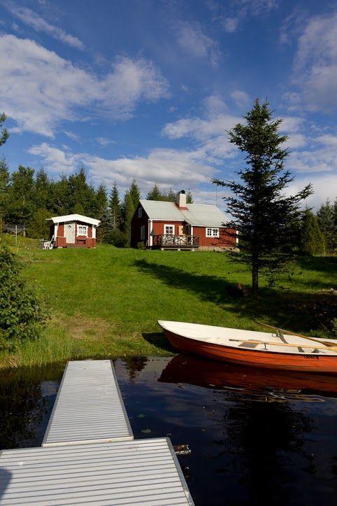 Hyra fiskestuga med båt