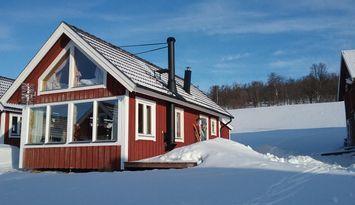 Mysig stuga i snörika Fjällnäs Tänndalen