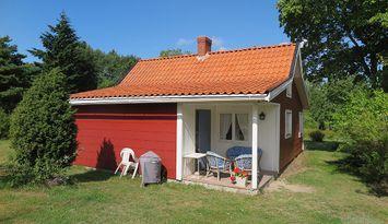 Stuga på stor, vacker tomt i  Böda, Norra Öland