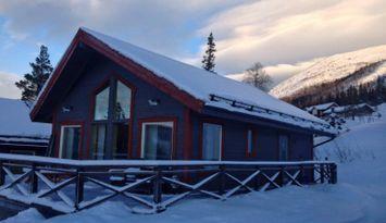 Fjällstuga bydalsfjällen med skiin/skiout