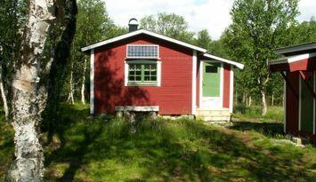 Svartbäcken, small secluded mountain cottage.