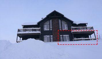 Lyxig lägenhet med riktigt Ski-in/Ski-outläge