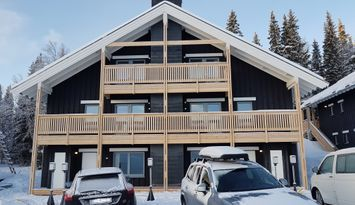 Newly built apartment Ski-in / ski-out in Tegefjäl