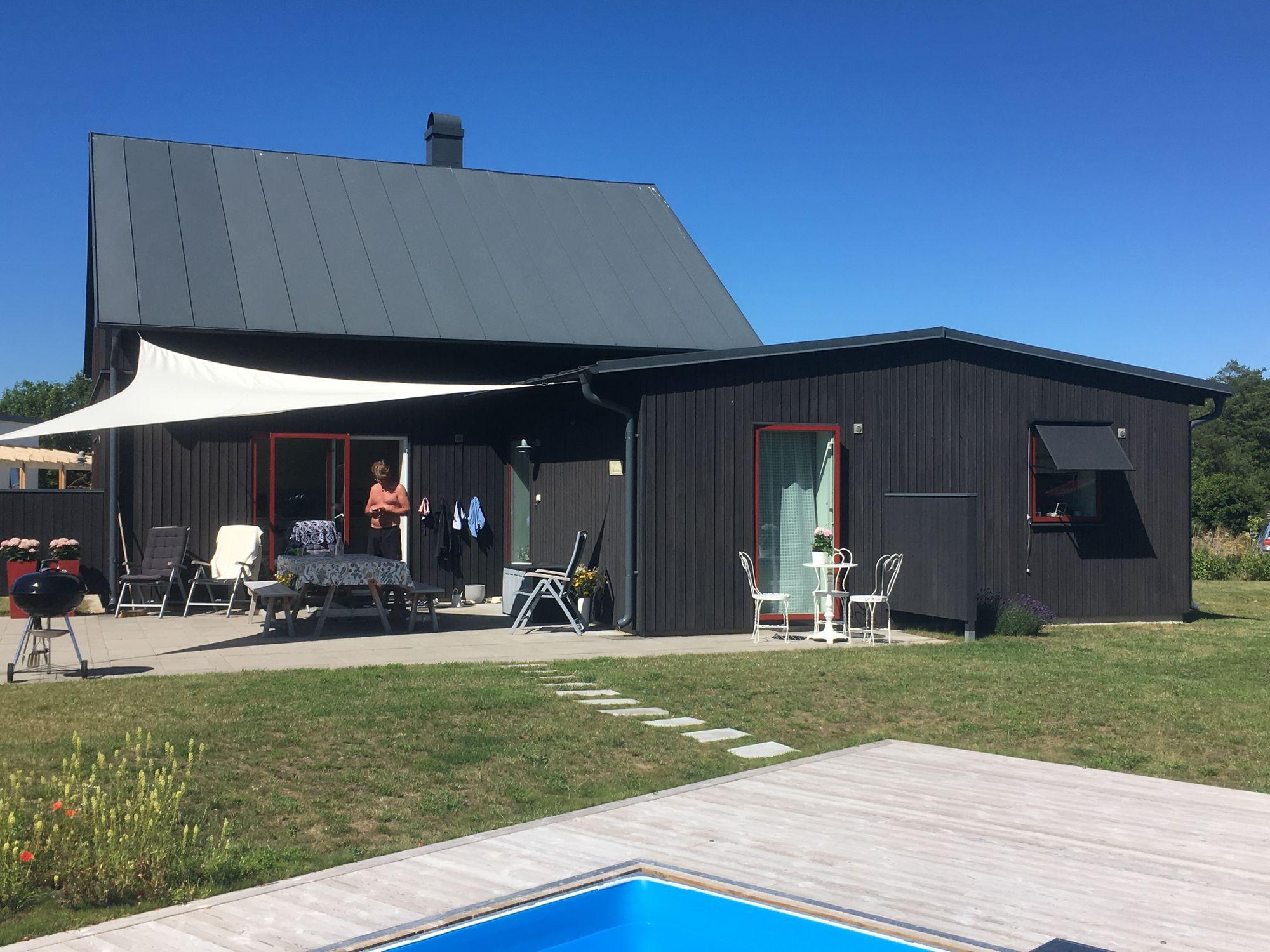hyra hus gotland pool