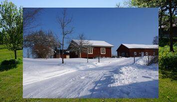 Stuga i Småland, nära Glasriket och Vimmerby.