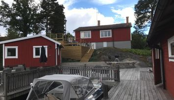 Summerhouses by the sea, Stockholm archipelago