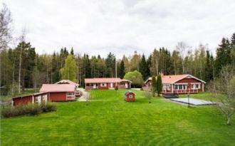Mysiga stugor i Siljansnäs/Leksand