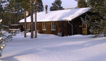 Klasse Hütte mit großartigem Fjällblick