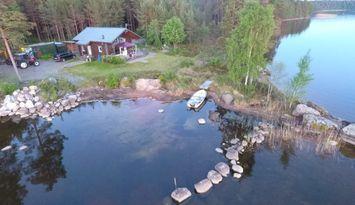Idyll vid Vattnet (bottensjön,Vättern,Göta Kanal)